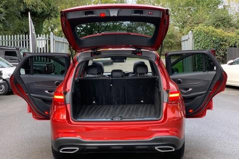 Mercedes-Benz GLC GLC 350 D 4MATIC AMG LINE PREMIUM -NIGHT PACKAGE -RARE DESIGNO HYACINTH RED 17