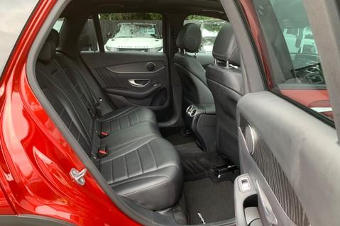 Mercedes-Benz GLC GLC 350 D 4MATIC AMG LINE PREMIUM -NIGHT PACKAGE -RARE DESIGNO HYACINTH RED 31