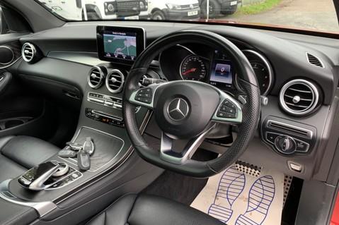 Mercedes-Benz GLC GLC 350 D 4MATIC AMG LINE PREMIUM -NIGHT PACKAGE -RARE DESIGNO HYACINTH RED 35