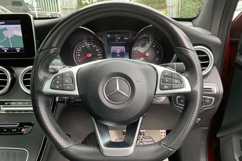 Mercedes-Benz GLC GLC 350 D 4MATIC AMG LINE PREMIUM -NIGHT PACKAGE -RARE DESIGNO HYACINTH RED 40