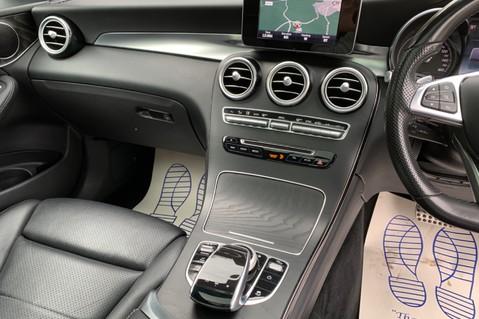 Mercedes-Benz GLC GLC 350 D 4MATIC AMG LINE PREMIUM -NIGHT PACKAGE -RARE DESIGNO HYACINTH RED 51