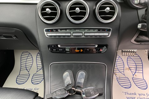 Mercedes-Benz GLC GLC 350 D 4MATIC AMG LINE PREMIUM -NIGHT PACKAGE -RARE DESIGNO HYACINTH RED 55