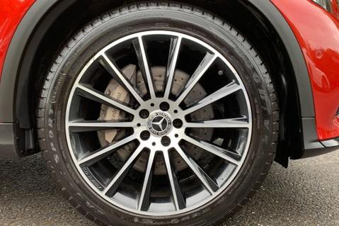 Mercedes-Benz GLC GLC 350 D 4MATIC AMG LINE PREMIUM -NIGHT PACKAGE -RARE DESIGNO HYACINTH RED 63