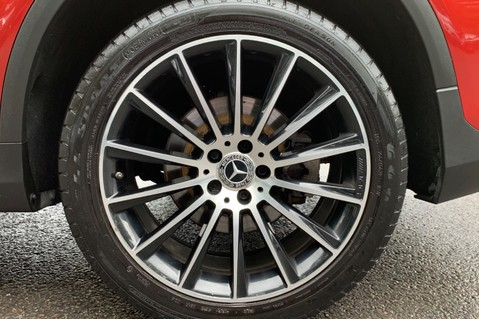 Mercedes-Benz GLC GLC 350 D 4MATIC AMG LINE PREMIUM -NIGHT PACKAGE -RARE DESIGNO HYACINTH RED 65