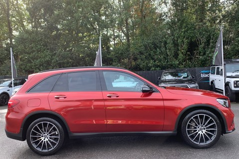Mercedes-Benz GLC GLC 350 D 4MATIC AMG LINE PREMIUM -NIGHT PACKAGE -RARE DESIGNO HYACINTH RED 4