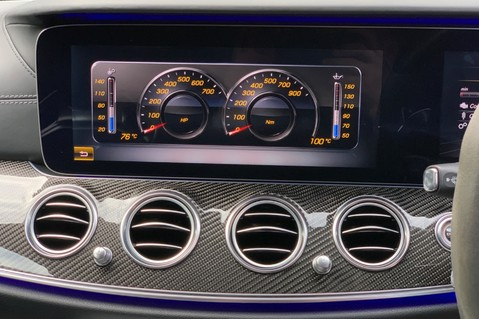 Mercedes-Benz E Class AMG E 63 S 4MATIC PREMIUM - PERFORMANCE SEATS/EXHAUST - CARBON FIBRE TRIM 62