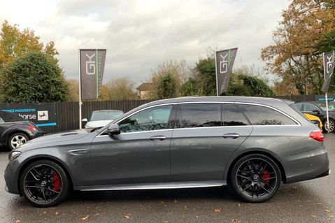 Mercedes-Benz E Class AMG E 63 S 4MATIC -VATQ - ONE OWNER - 20 INCH FORGED ALLOYS 7