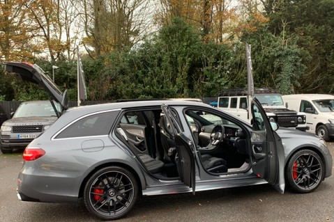 Mercedes-Benz E Class AMG E 63 S 4MATIC -VATQ - ONE OWNER - 20 INCH FORGED ALLOYS 17