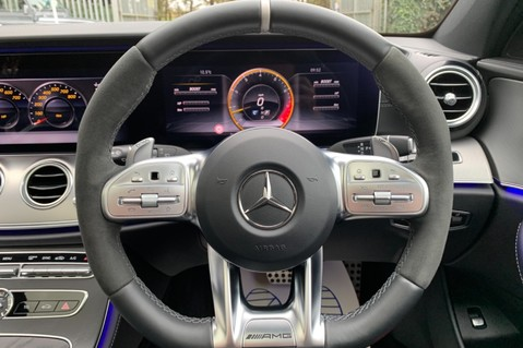 Mercedes-Benz E Class AMG E 63 S 4MATIC -VATQ - ONE OWNER - 20 INCH FORGED ALLOYS 51