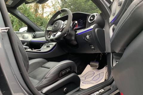 Mercedes-Benz E Class AMG E 63 S 4MATIC -VATQ - ONE OWNER - 20 INCH FORGED ALLOYS 52