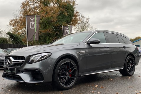 Mercedes-Benz E Class AMG E 63 S 4MATIC -VATQ - ONE OWNER - 20 INCH FORGED ALLOYS 92