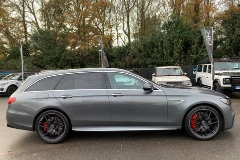 Mercedes-Benz E Class AMG E 63 S 4MATIC -VATQ - ONE OWNER - 20 INCH FORGED ALLOYS 4