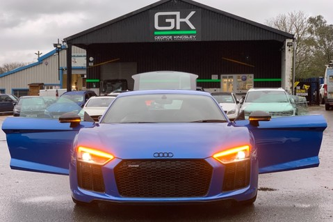 Audi R8 V10 PLUS QUATTRO - B&O -REVERSE CAMERA - EXTENDED NAPPA LEATHER 14