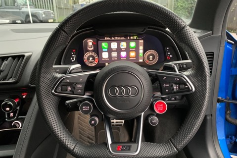 Audi R8 V10 PLUS QUATTRO - B&O -REVERSE CAMERA - EXTENDED NAPPA LEATHER 40