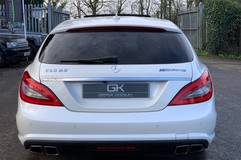 Mercedes-Benz CLS CLS63 AMG S - RARE CLS 63-S SHOOTING BRAKE -19K EXTRAS!! - FULL MBSH 10