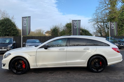 Mercedes-Benz CLS CLS63 AMG S - RARE CLS 63-S SHOOTING BRAKE -19K EXTRAS!! - FULL MBSH 11