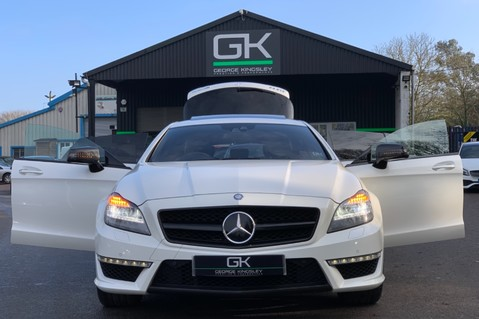 Mercedes-Benz CLS CLS63 AMG S - RARE CLS 63-S SHOOTING BRAKE -19K EXTRAS!! - FULL MBSH 5