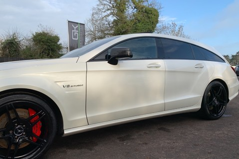 Mercedes-Benz CLS CLS63 AMG S - RARE CLS 63-S SHOOTING BRAKE -19K EXTRAS!! - FULL MBSH 29