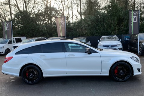 Mercedes-Benz CLS CLS63 AMG S - RARE CLS 63-S SHOOTING BRAKE -19K EXTRAS!! - FULL MBSH 6