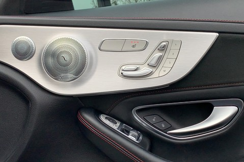 Mercedes-Benz C Class AMG C 63 PREMIUM - 1 OWNER -FORGED AMG ALLOYS -NIGHT PK -DESIGNO -VATQ 41