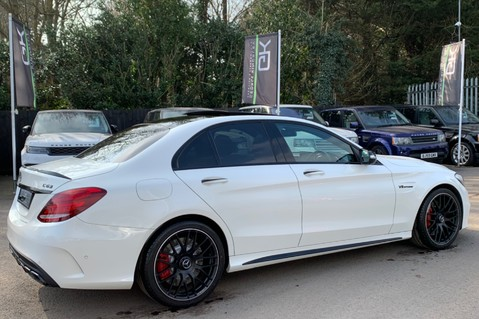 Mercedes-Benz C Class AMG C 63 PREMIUM - RED/BLACK LEATHER - 19 INCH CROSS SPOKES - AMG EXHAUST 5