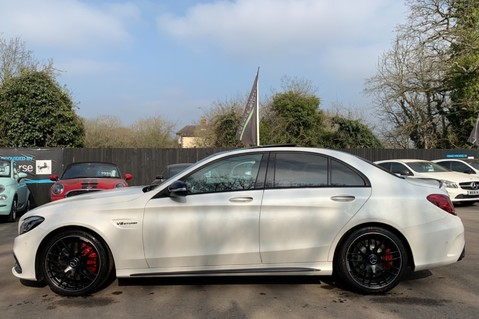 Mercedes-Benz C Class AMG C 63 PREMIUM - RED/BLACK LEATHER - 19 INCH CROSS SPOKES - AMG EXHAUST 7