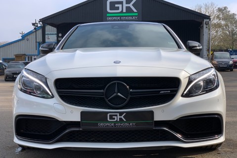 Mercedes-Benz C Class AMG C 63 PREMIUM - RED/BLACK LEATHER - 19 INCH CROSS SPOKES - AMG EXHAUST 9