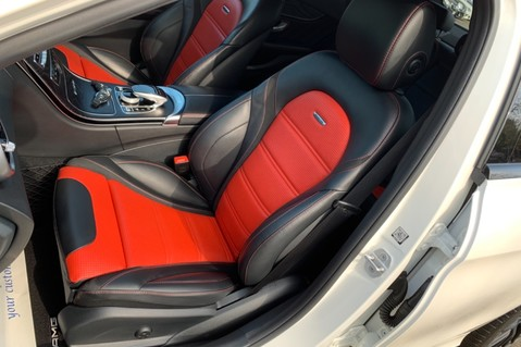 Mercedes-Benz C Class AMG C 63 PREMIUM - RED/BLACK LEATHER - 19 INCH CROSS SPOKES - AMG EXHAUST 25