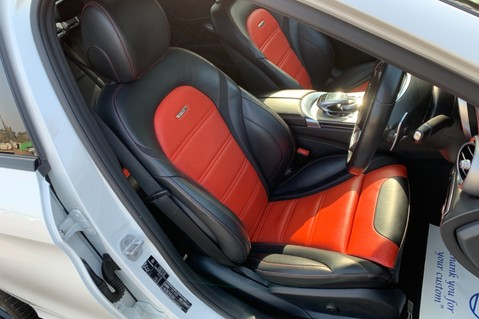 Mercedes-Benz C Class AMG C 63 PREMIUM - RED/BLACK LEATHER - 19 INCH CROSS SPOKES - AMG EXHAUST 12