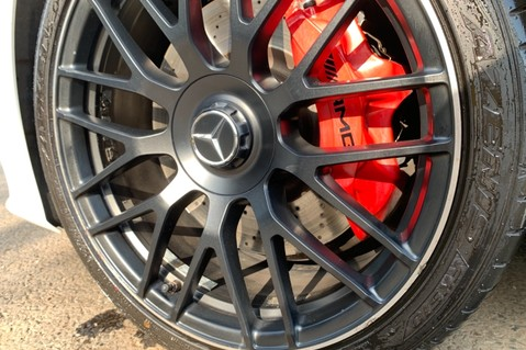 Mercedes-Benz C Class AMG C 63 PREMIUM - RED/BLACK LEATHER - 19 INCH CROSS SPOKES - AMG EXHAUST 85
