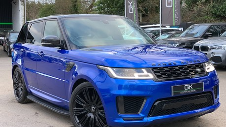 Land Rover Range Rover Sport SDV6 AUTOBIOGRAPHY DYNAMIC - ONE OWNER - VELOCITY BLUE - FULL L/R SH Video