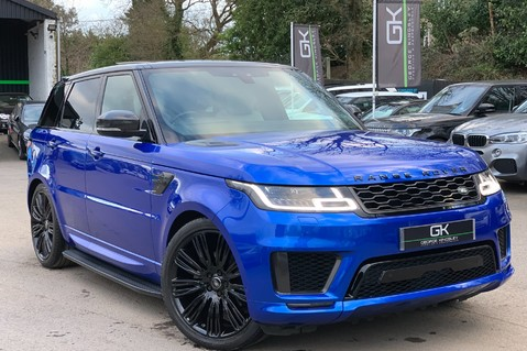 Land Rover Range Rover Sport SDV6 AUTOBIOGRAPHY DYNAMIC - ONE OWNER - VELOCITY BLUE - FULL L/R SH 1
