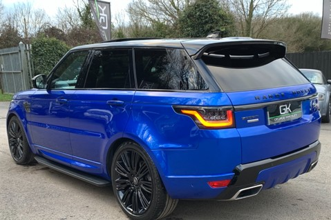 Land Rover Range Rover Sport SDV6 AUTOBIOGRAPHY DYNAMIC - ONE OWNER - VELOCITY BLUE - FULL L/R SH 2