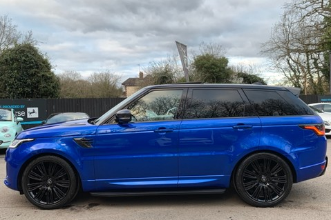 Land Rover Range Rover Sport SDV6 AUTOBIOGRAPHY DYNAMIC - ONE OWNER - VELOCITY BLUE - FULL L/R SH 7