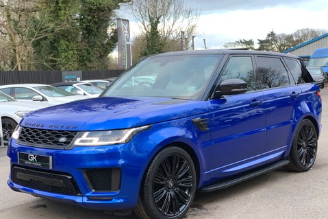 Land Rover Range Rover Sport SDV6 AUTOBIOGRAPHY DYNAMIC - ONE OWNER - VELOCITY BLUE - FULL L/R SH 8