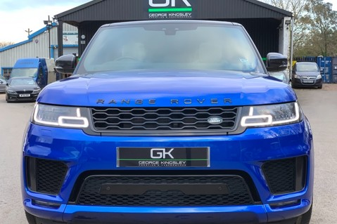Land Rover Range Rover Sport SDV6 AUTOBIOGRAPHY DYNAMIC - ONE OWNER - VELOCITY BLUE - FULL L/R SH 9