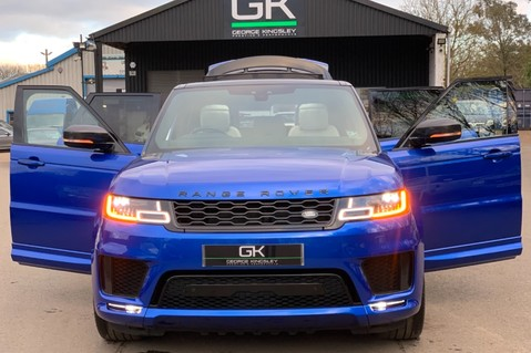 Land Rover Range Rover Sport SDV6 AUTOBIOGRAPHY DYNAMIC - ONE OWNER - VELOCITY BLUE - FULL L/R SH 11