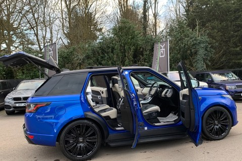 Land Rover Range Rover Sport SDV6 AUTOBIOGRAPHY DYNAMIC - ONE OWNER - VELOCITY BLUE - FULL L/R SH 12
