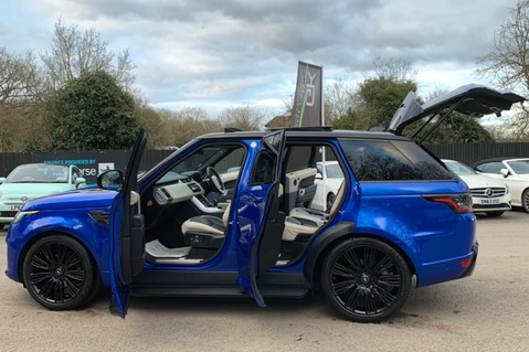 Land Rover Range Rover Sport SDV6 AUTOBIOGRAPHY DYNAMIC - ONE OWNER - VELOCITY BLUE - FULL L/R SH 13