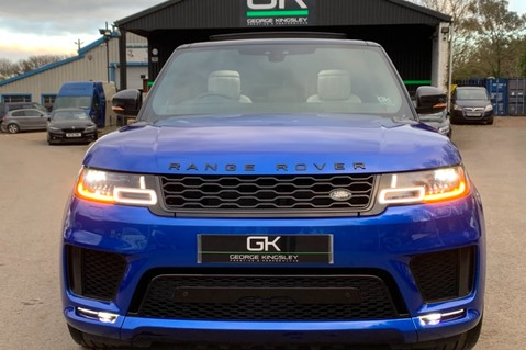 Land Rover Range Rover Sport SDV6 AUTOBIOGRAPHY DYNAMIC - ONE OWNER - VELOCITY BLUE - FULL L/R SH 16
