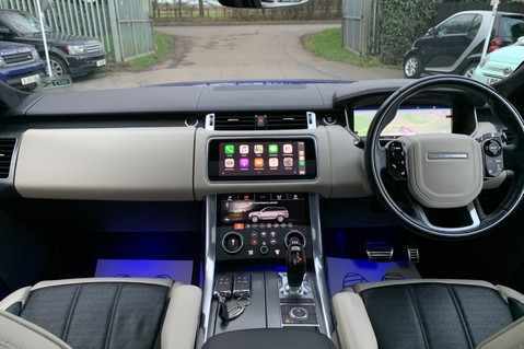 Land Rover Range Rover Sport SDV6 AUTOBIOGRAPHY DYNAMIC - ONE OWNER - VELOCITY BLUE - FULL L/R SH 38
