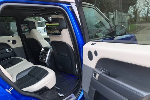 Land Rover Range Rover Sport SDV6 AUTOBIOGRAPHY DYNAMIC - ONE OWNER - VELOCITY BLUE - FULL L/R SH 47