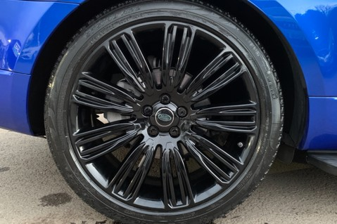 Land Rover Range Rover Sport SDV6 AUTOBIOGRAPHY DYNAMIC - ONE OWNER - VELOCITY BLUE - FULL L/R SH 91