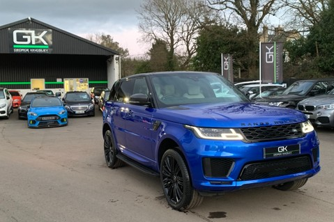 Land Rover Range Rover Sport SDV6 AUTOBIOGRAPHY DYNAMIC - ONE OWNER - VELOCITY BLUE - FULL L/R SH 95