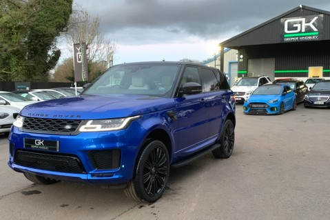 Land Rover Range Rover Sport SDV6 AUTOBIOGRAPHY DYNAMIC - ONE OWNER - VELOCITY BLUE - FULL L/R SH 96
