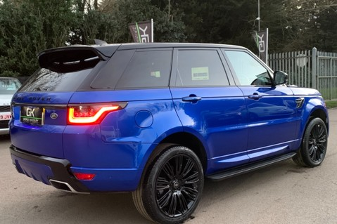Land Rover Range Rover Sport SDV6 AUTOBIOGRAPHY DYNAMIC - ONE OWNER - VELOCITY BLUE - FULL L/R SH 99
