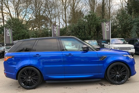Land Rover Range Rover Sport SDV6 AUTOBIOGRAPHY DYNAMIC - ONE OWNER - VELOCITY BLUE - FULL L/R SH 4