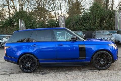 Land Rover Range Rover SDV6 VOGUE SE - RARE VELOCITY BLUE - REAR ENTERTAINMENT - VATQ 5
