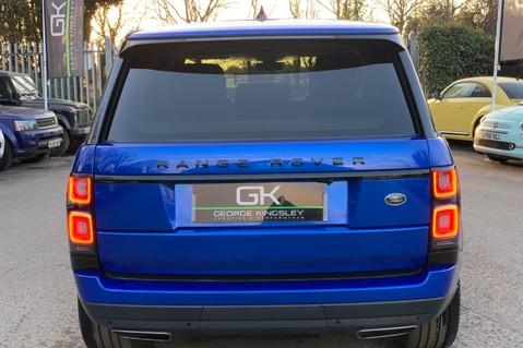 Land Rover Range Rover SDV6 VOGUE SE - RARE VELOCITY BLUE - REAR ENTERTAINMENT - VATQ 8