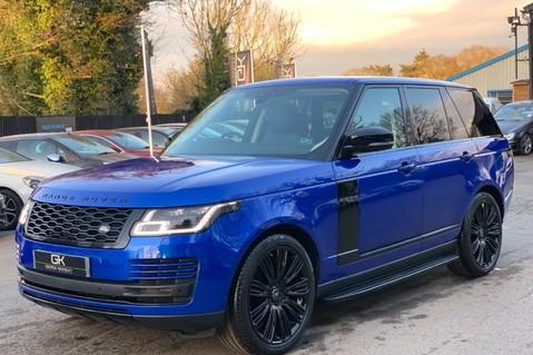 Land Rover Range Rover SDV6 VOGUE SE - RARE VELOCITY BLUE - REAR ENTERTAINMENT - VATQ 10